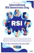 2018 RSI Awareness Day Poster